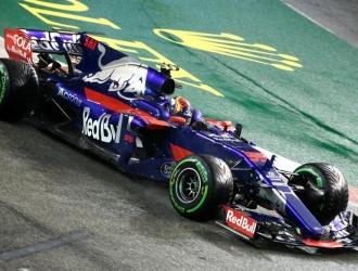 El español estuvo satisfecho por llegar cuarto en Singapur / Foto EFE