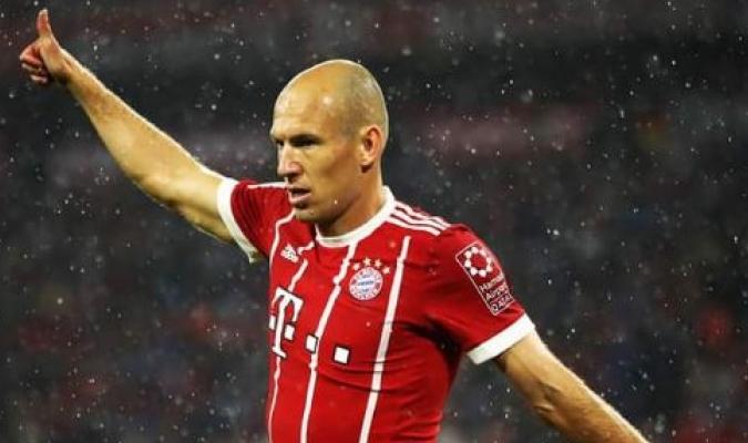 Robben padece gripe | TW: @BFigarola