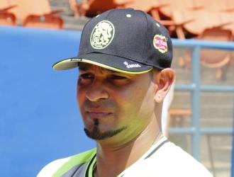Guzmán durante el entrenamiento /Foto Alberto Torres Lamprea