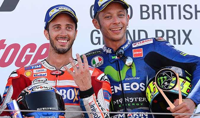 Dovizioso cree que Rossi no regresará al 100%/ Foto Cortesía