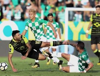 Ronaldo durante el partido / EFE