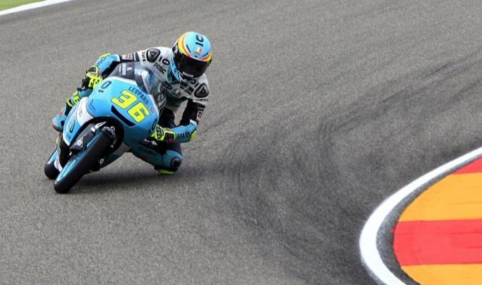 El español se acerca al título de Moto3