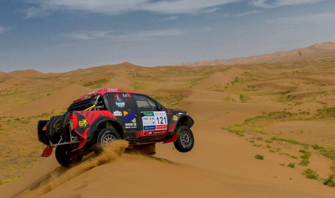 El piloto chino sigue intratable en el Rally / Foto Agencias
