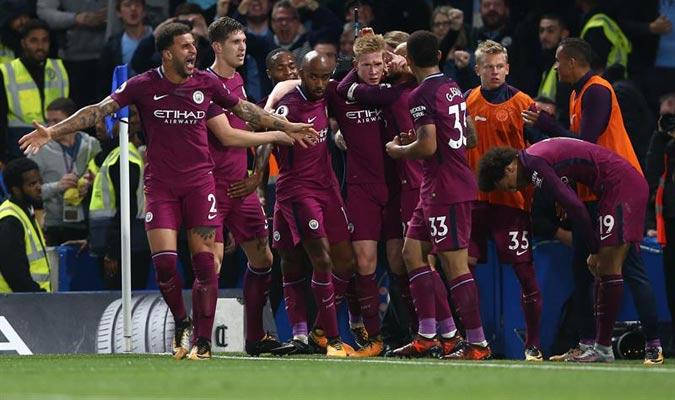 El belga marcó el único gol del partido/ Foto EFE