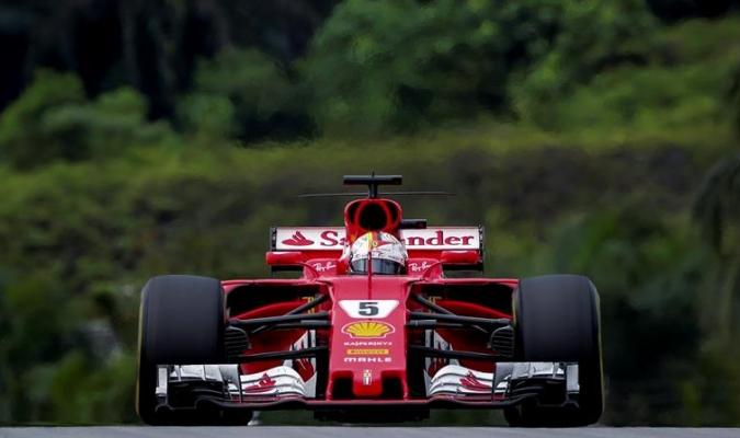 Vettel lamentó no sumar más puntos / Foto EFE