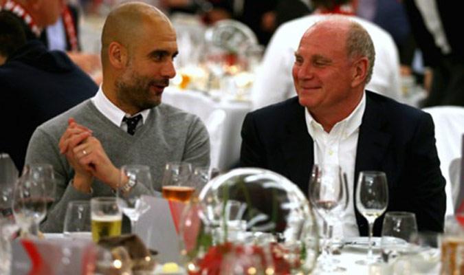 Hoeness destacó su amistad con Guardiola/ Foto Cortesía