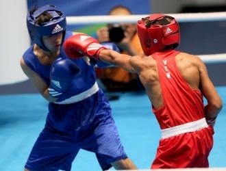 El boxeo brilló / COV