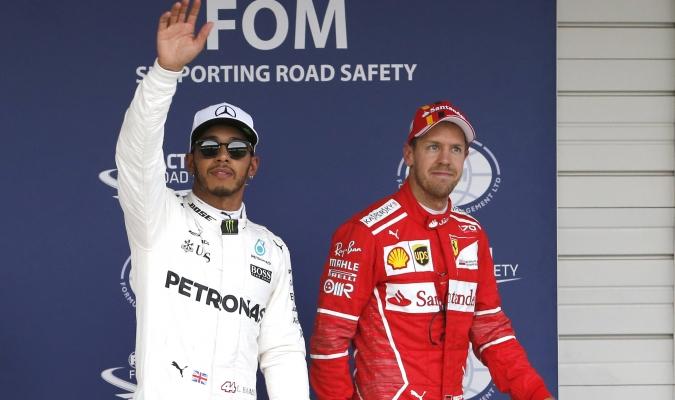 Hamilton se le escapa a Vettel | AP