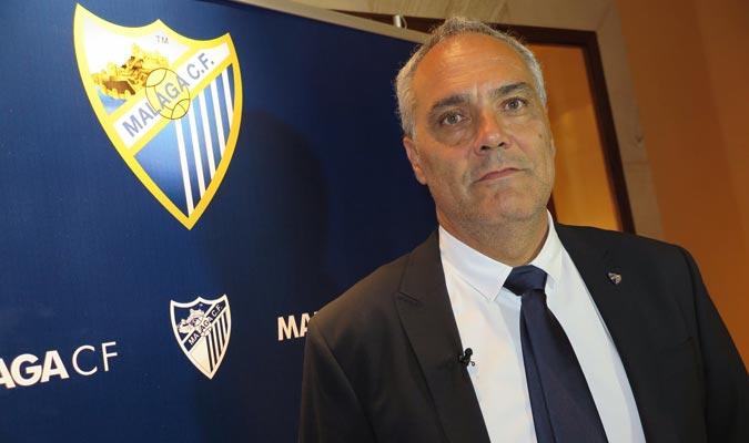 Husillos fue director deportivo del Málaga entre 2012 y 2015/ Foto Cortesía