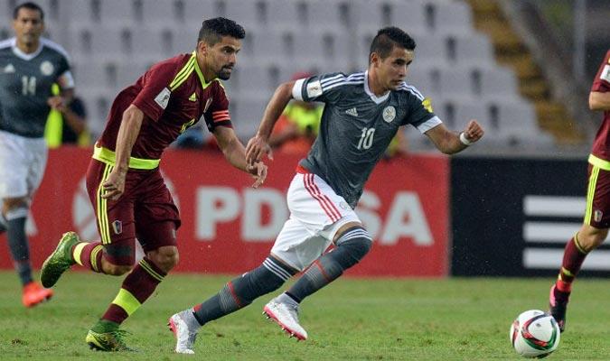En el primer partido del premundial, se perdió con Paraguay 0-1 en Cachamay/ Foto Archivo BDA