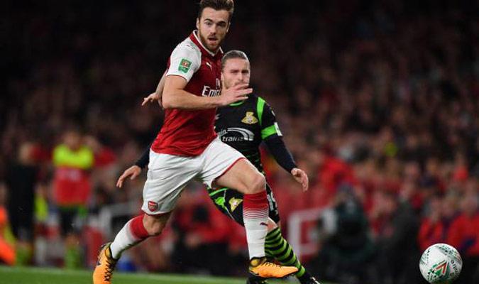 Chambers quiere seguir creciendo en el Arsenal/ Foto Cortesía