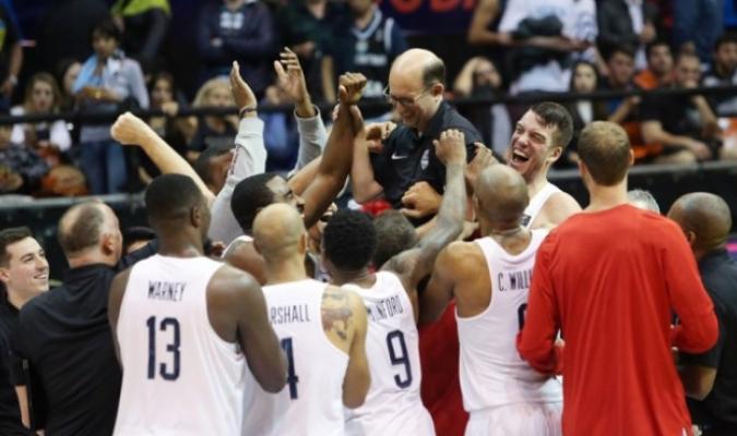 Los norteamericanos dominan la rama masculina y femenina / Foto FIBA