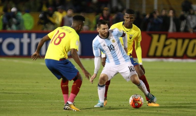 Messi salvó a su país de no ir al Mundial / Foto EFE