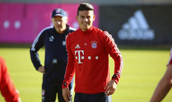 Heynckes declaró que se entenderá bien con James/ Foto @FCBayern