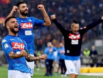 El Napoli se escapó en la cima del Calcio / Foto EFE