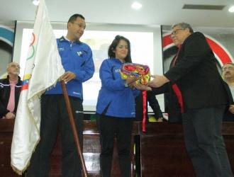 Delegación venezolana / Prensa COV