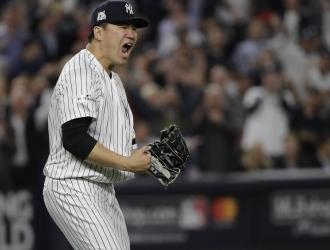 Tanaka brilló / AP