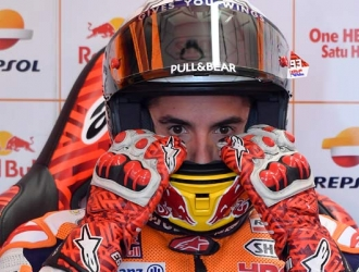 Márquez dijo que habrá una gran lucha por el campeonato/ Foto AP
