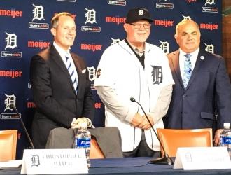 Gardenhire fue presentado como mánager de Detroit | @tigers