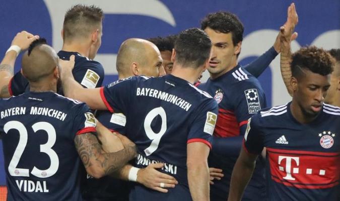 El Bayern sigue mejorando / EFE