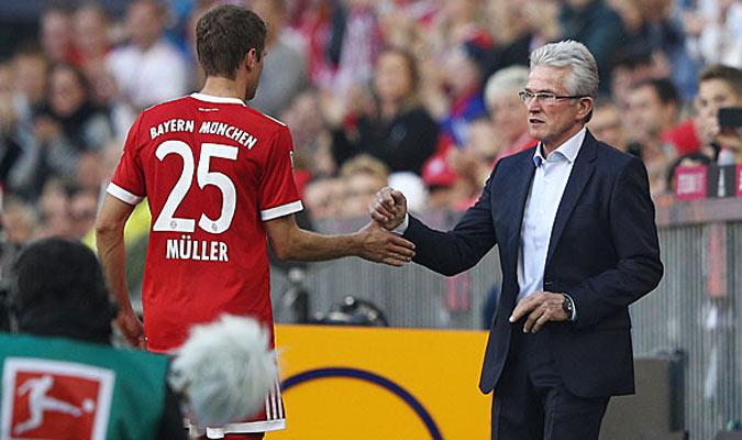 Müller no jugará ante el Leipzig en Copa/ Foto Cortesía
