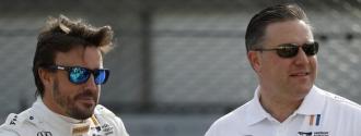 El director de McLaren aseguró el objetivo del piloto español / Foto Agencias