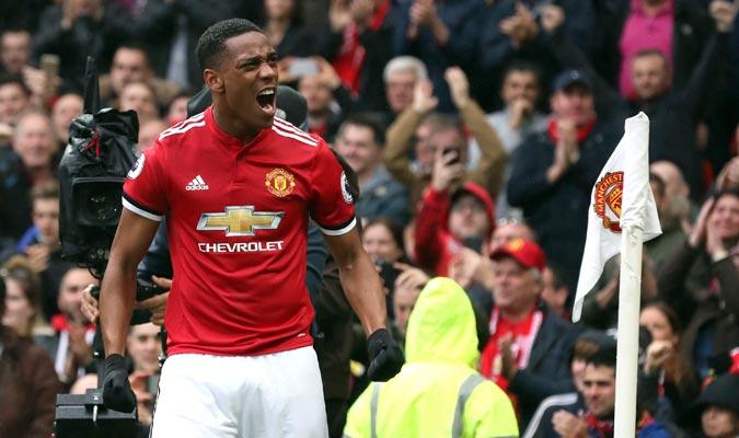 Martial tiene cuatro goles en Premier/ Foto AP