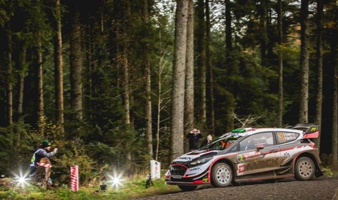 Evans confía en llevarse el Rally de Gran Bretaña - Gales / Foto EFE