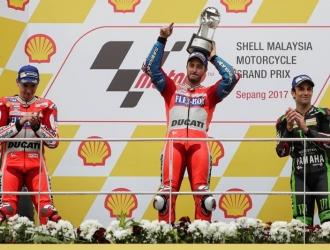 Andrea Dovizioso ganó en Malasia | EFE