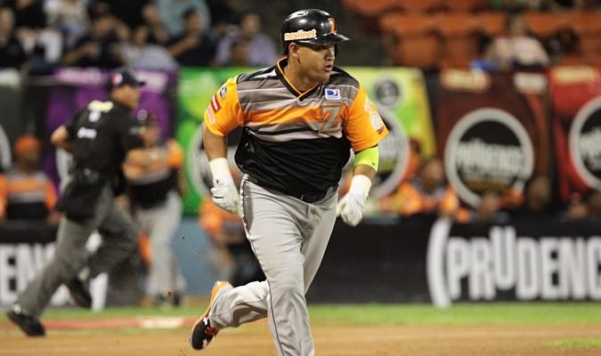 Héctor Giménez fue el mejor a la ofensiva / Foto AVS