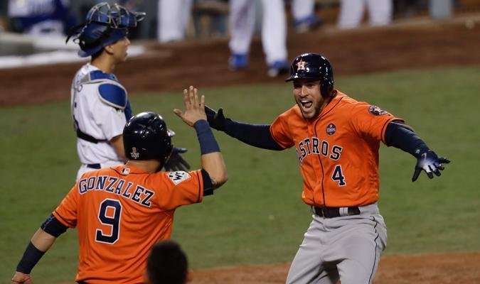 Los Astros de Houston son campeones de las Grandes Ligas por primera vez