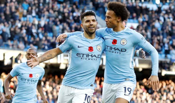 Agüero volvió a marcar para City/ Foto AP