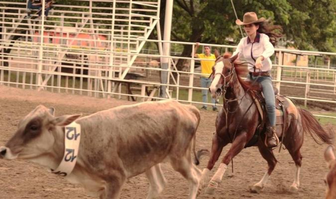 Se montó en su yegua Lady Lena Chambray | PRENSA GRACE ORIA