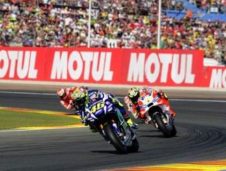 Rossi durante el GP de Valencia/ Foto Cortesía
