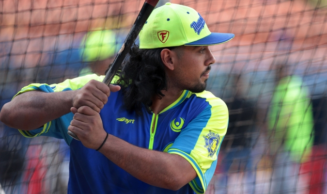 El inicialista comentó que tiene un poco de slugger y de bateador para promedio | Archivo BDA
