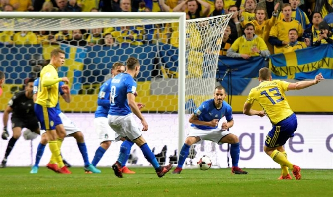 Suecia ante Italia / EFE