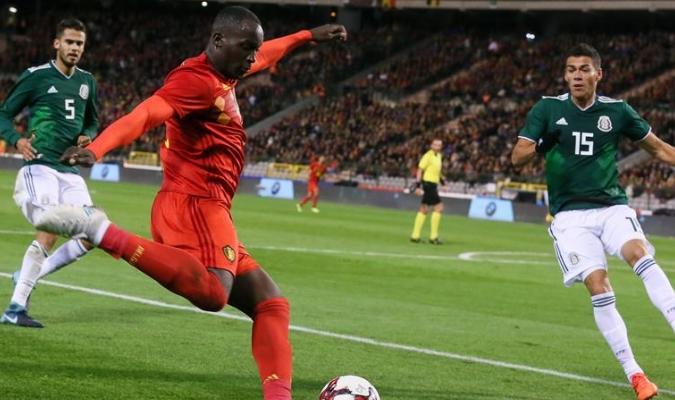 El belga alcanzó las tres decenas de dianas con su selección / Foto EFE