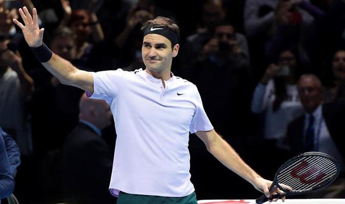 Federer venció a Sock en dos sets/ Foto EFE