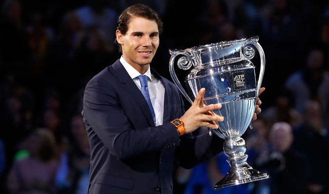 Nadal, con 31 años, volvió a ser número 1/ Foto AP