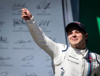 Massa corrió su última carrera en casa / Foto EFE