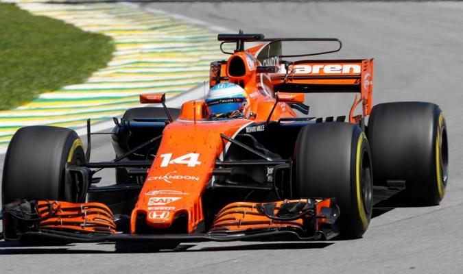 Fernando Alonso sumó puntos / Foto EFE