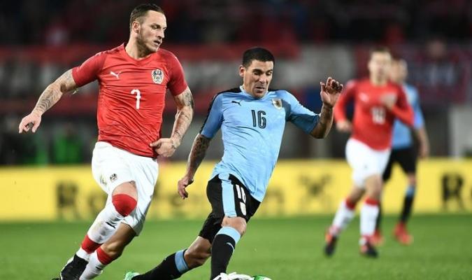 Austria vence a Uruguay / EFE
