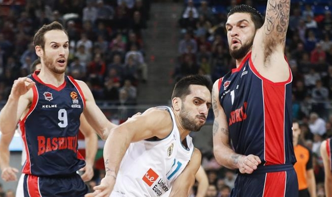 El Baskonia superó al Madrid / EFE
