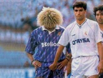 Carlos Valderrama y Míchel | Foto: Referencia