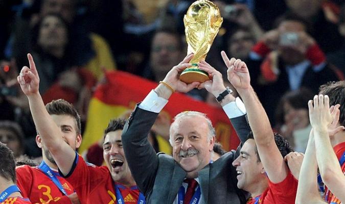 El entrenador condujo a España al título del Mundial 2010| http://img.rtve.es