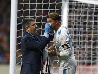 El capitán se fracturó la nariz en el derbi madrileño| AP