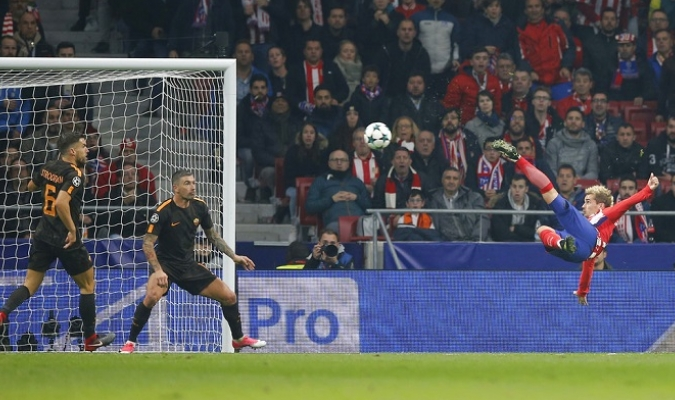 Antoine Griezmann marcó un golazo | Foto: AP