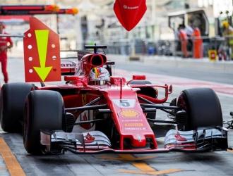 Vettel cerró los ensayos con el mejor crono / Foto EFE