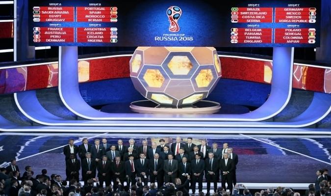 Así quedaron los grupos | Foto: AP