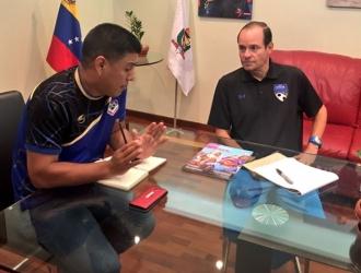 Kenneth Zseremeta y Pedro Infante / @pinfantea